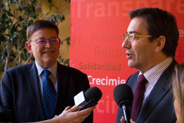 Ximo Puig Confederacio Cooperatives