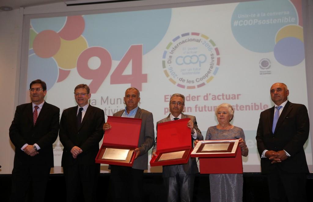 Premiados en 94 Día Mundial del Cooperativismo